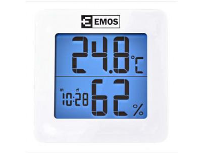 EMOS LCD teplomer digitálny  E011 s vlhkomerom