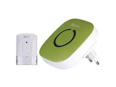 EMOS Domový bezdrôtový zvonček 838W zelený