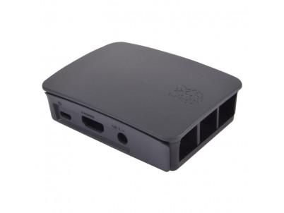 RASPBERRY Čierna skrinka pre Raspberry Pi 3B/3B+