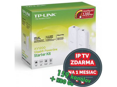 TP-Link TL-PA8010KIT AV1200 Nano Powerline