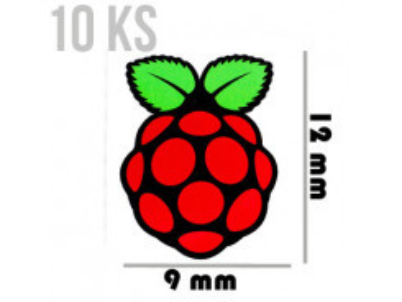 PIMORONI Samolepky malé 12x9 10ks pre Raspberry