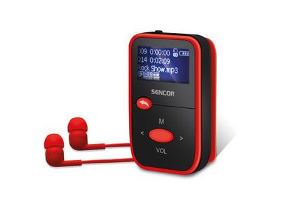 SFP 4408 RD MP3 prehrávač 8GB SENCOR