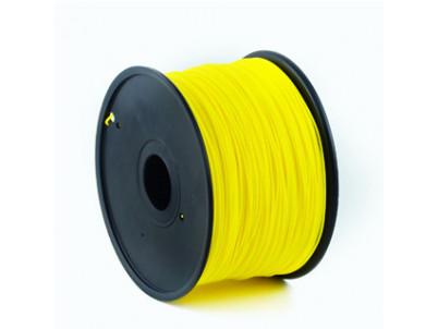 GEMBIRD Náplň 3D 100mm PLA/1.75mm/1kg Yellow