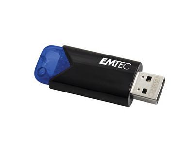 B110 USB3.2 32GB BLU Click Easy EMTEC