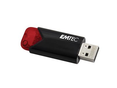 B110 USB3.2 256GB RED Click Easy EMTEC