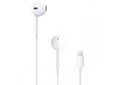 APPLE Slúchadlá EarPods Lightning MMTN2ZM/A white
