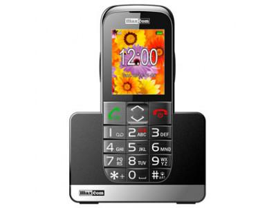 MAXCOM Telefón pre seniorov MM720BBCZA čierny