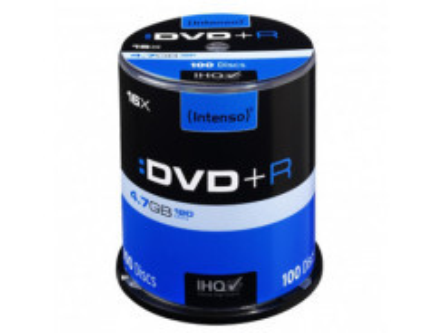 INTENSO DVD+R Cake Case 4,7GB 100ks