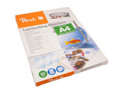 PEACH -- Laminovacia folia  A4 80mi 100ks PP580-02