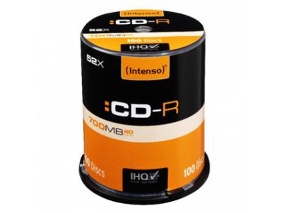 INTENSO CD-R Cake Case 700MB 100ks