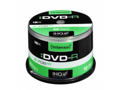 INTENSO DVD-R Cake Case 4,7GB 50ks