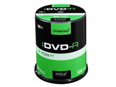 INTENSO DVD-R Cake Case 4,7GB 100ks