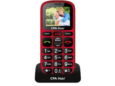 MYPHONE Telefón pre seniorov HALO 16 červený