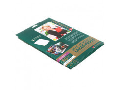 LOMOND Samolepiac papier laser tlač lesk/85g/A4/50