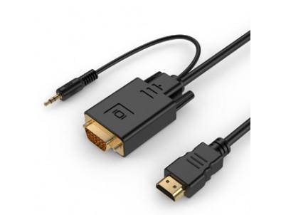 GEMBIRD Kábel HDMI Samec/VGA Samec +3,5mm Jack 3