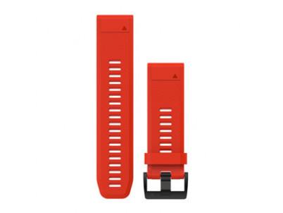 GARMIN Červený silik. rem. QuickFit 26 Fenix 3/5X