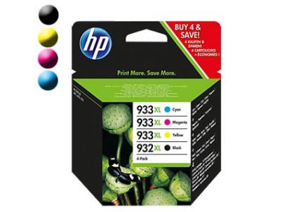 HP Cartridge 932XL Black/933XL Cyan/Magenta/Yellow