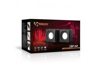SBOX SP-02 Sada reproduktorov 2x3W