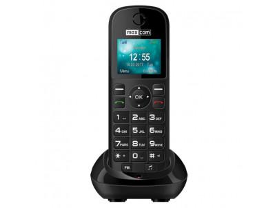 MAXCOM Telefón COMFORT MM35D čierny