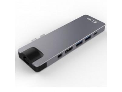 LMP USB-C Dock 8-port - Space Grey