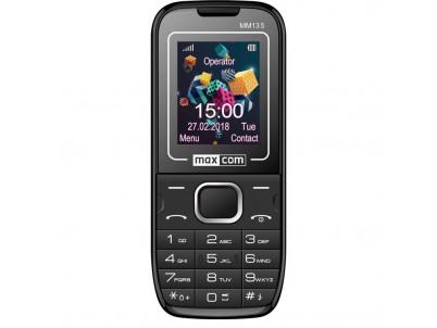 MAXCOM Telefón DUAL Sim MM135 čierno/modry