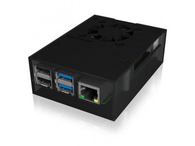 RAIDSONIC ICY IB-RP108, pre Raspberry Pi 4