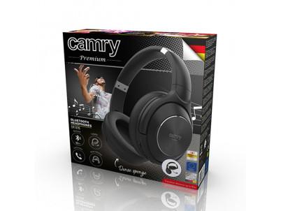CAMRY CR 1178, Bluetooth slúchadlá, blk