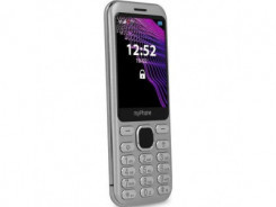 MYPHONE MAESTRO, Mobilný telefón strieborný