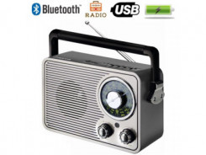 MANTA RDI-FM3AN, Retro rádio, MP3, USB
