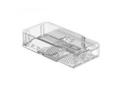 RASPBERRY Pi 4 Case SLIDE Clear