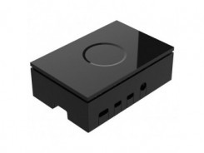 RASPBERRY Pi 4 Case plastic black