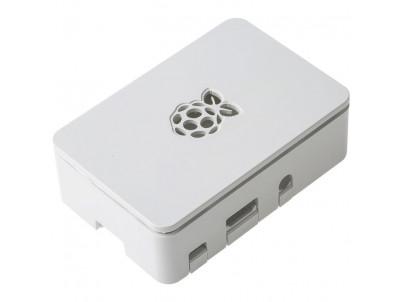 RASPBERRY Biela skrinka Raspberry Pi 2B/3B/3B+
