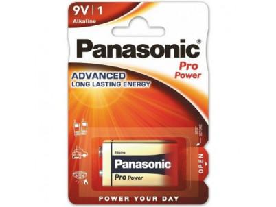 PANASONIC PRO POWER, Batéria, 9V, 6LR61, 1ks