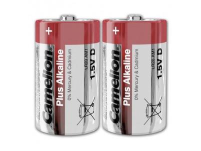 CAMELION Batérie alkalické PLUS D 2ksLR20 1.5V SP2