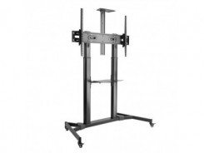 SBOX  FS-3610, TV floor stand on wheels