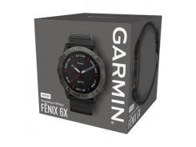 GARMIN Fénix 6X PRO Black/Black band