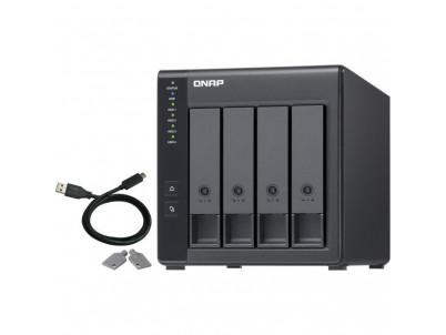 QNAP NAS Server TR-004 4xHDD bay