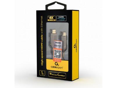 GEMBIRD Kábel HDMI 2.0b Sc/Sc 1m AWG28