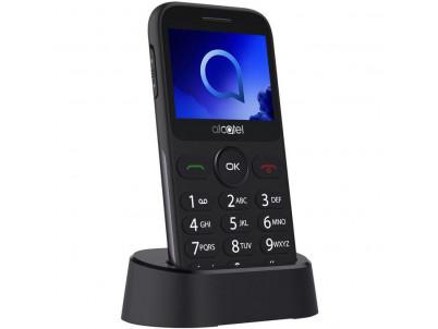 ALCATEL Telefón pre seniorov 2019G Metallic Gray