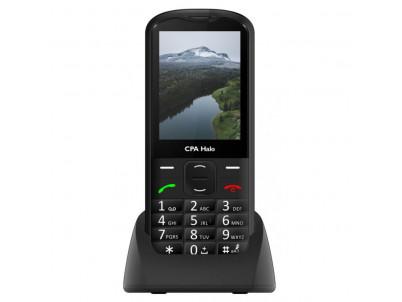 MYPHONE CPA HELO 18, Telefón pre seniorov čierny