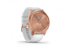 GARMIN Vivomove Style, Rose Gold-White, Silicone