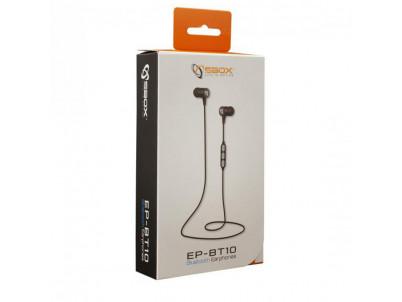 SBOX EP-BT10, Bluetooth slúchadlá blk
