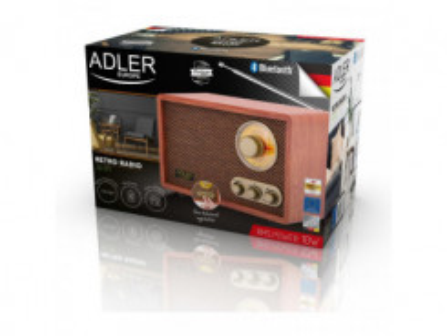 ADLER AD 1171, FM Rádio v RETRO štýle s Bluetooth