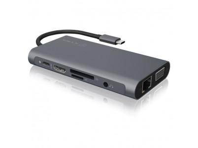 RAIDSONIC ICY BOX USB Type-C/HDMI+USB+Type C+RJ45