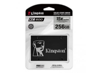 "KINGSTON SSD KC600 256GB/2,5""/SATA3/7mm"