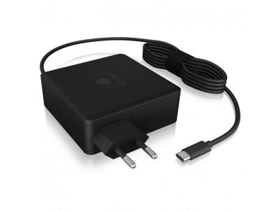 RAIDSONIC ICY BOX, Adaptér pre notebooky 90W USB C
