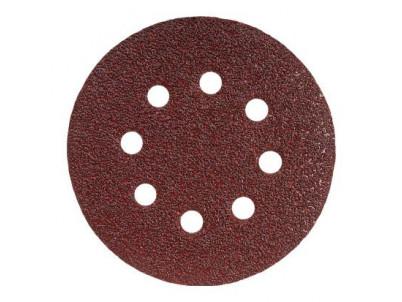 GRAPHITE Vulkanfibrové kotúče, 125 mm, K60, s otvo