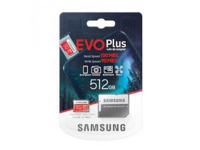 SAMSUNG Micro SDXC EVO+ 512GB (2020)