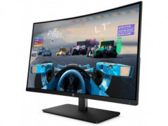 """HP LED Monitor 27"""" Curved gaming"""