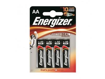ENERGIZER PowerSeal AA, Batérie, LR6, 1.5V, 4ks